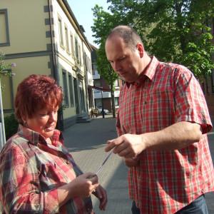 Jörg Ralenkötter klärt über die Gesamtschule auf