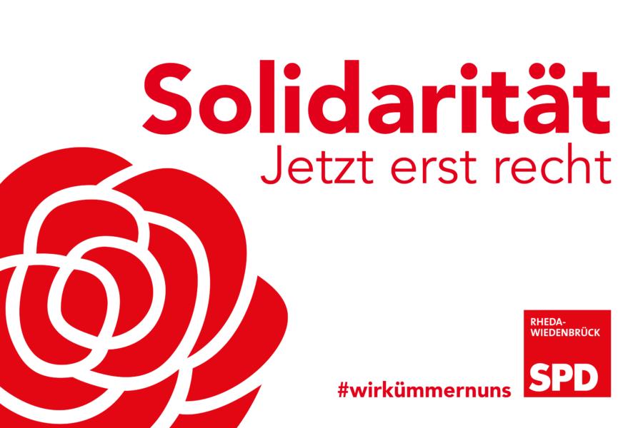 Solidarität! Jetzt erst rech!