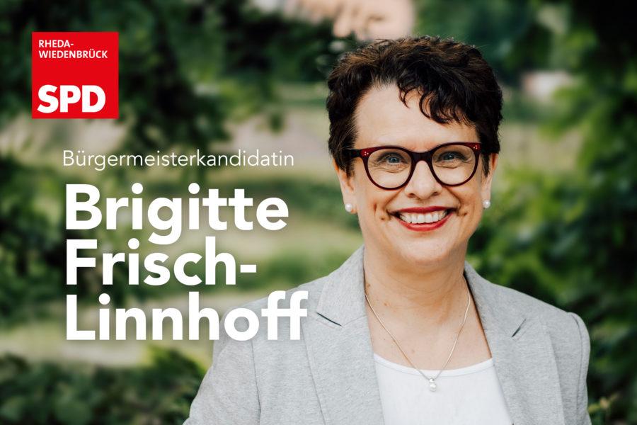 Bürgermeisterkandidatin Brigitte Frisch-Linnhoff