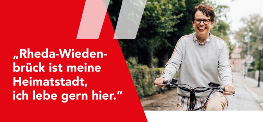 Rheda-Wiedenbrück ist meine Heimatstadt! Ich lebe gern hier!